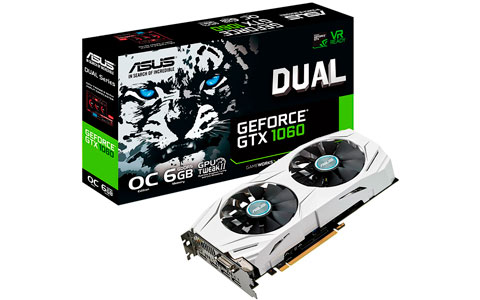 Placa de vídeo GTX 1060 6 GB