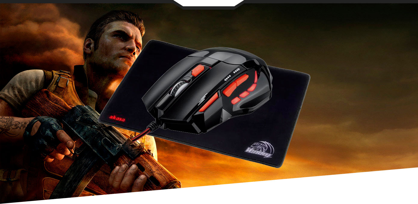 Mouse Pad Speed Black