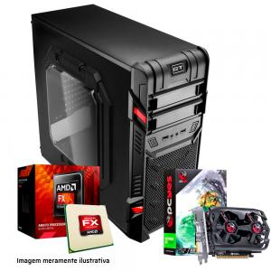 PC GAMER AMD FX-6300 Video GT730 M5A78L-M HD 1TB 8 GB DDR3