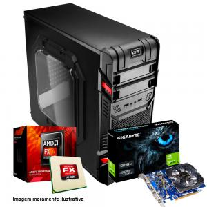Imagem do Produto PC GAMER AMD FX-6300 Video GT710 M5A78L-M HD 1TB 8 GB DDR3