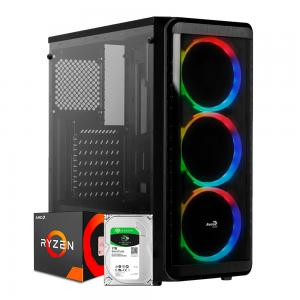 PC AMD Ryzen 5 3600 + RTX 2060 SUPER 8GB + 16GB RAM + SSD 240GB