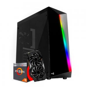 PC AMD Ryzen 5 3400G + GTX 1660 SUPER 6GB + 8GB RAM + SSD 240GB