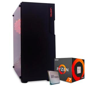 PC Legend 4 Ryzen 7 2700 B450 Vídeo RTX 2060 6GB HD 2TB