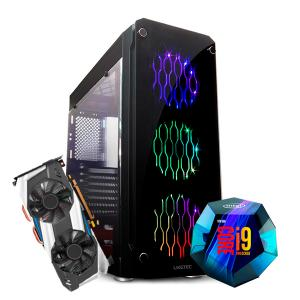 PC Pro Gamer 2 Intel 9 9900 Z390 Vídeo RTX 2080TI HD 2TB