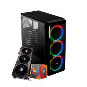 PC AMD Ryzen 7 3700X + RTX 2080 SUPER 8GB + 16GB RAM + SSD 240GB