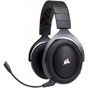Headset Gamer Corsair HS70 Wireless Carbono
