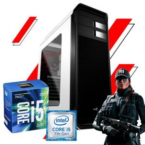 Pc Gamer Intel Core i5 7400, H110, 8GB DDR4, 1050TI 4GB, SSD120, HD 1TB, Fonte 500W 80plus